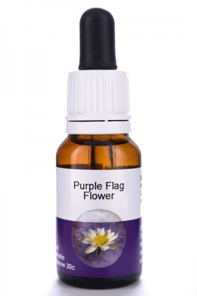 Living Essences Purple Flag Flower 15ml