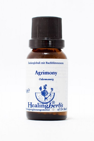 Healing Herbs - Agrimony (Odermennig) Globuli 15gr