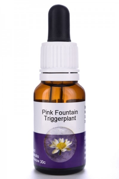 Living Essences Pink Fountain Trigger Plant 15ml