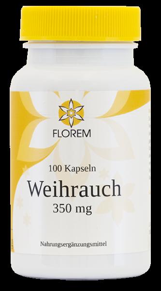 Weihrauch 350 mg 100 Kapseln FLOREM