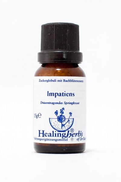 Healing Herbs - Impatiens (Drüsentragendes Springkraut) Globuli 15gr