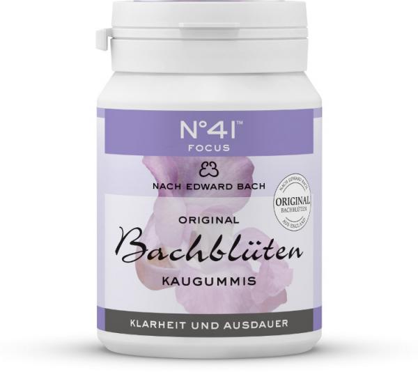 Bachblüten Kaugummis Focus 60gr