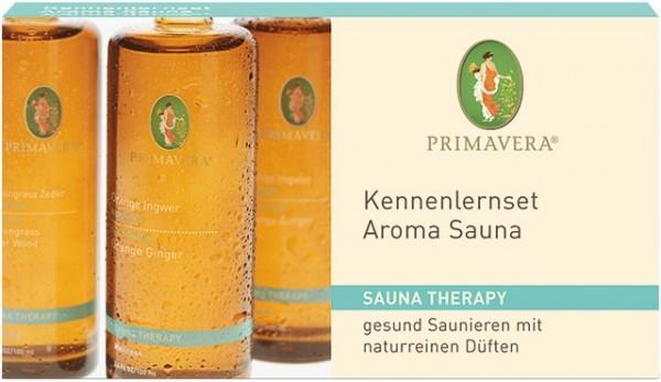 Primavera Kennenlernset AromaSauna 3 x 10 ml