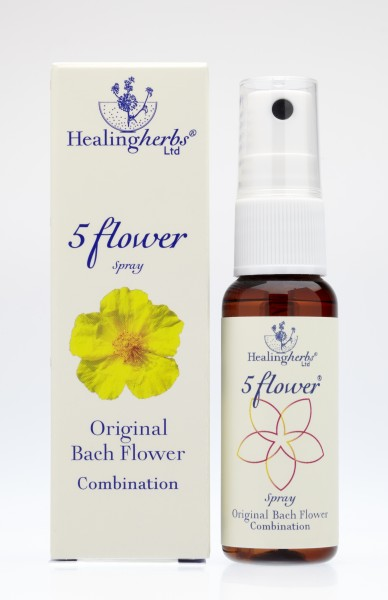 Healing Herbs - Five Flower Remedy Notfallspray 25ml