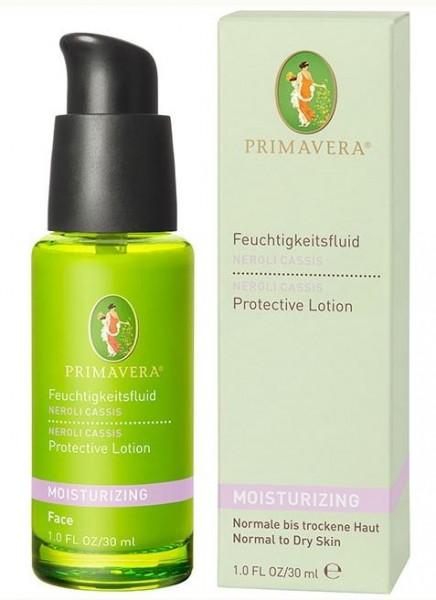 Primavera Gesichtspflege - Primavera Feuchtigkeitsfluid Neroli Cassis 30 ml