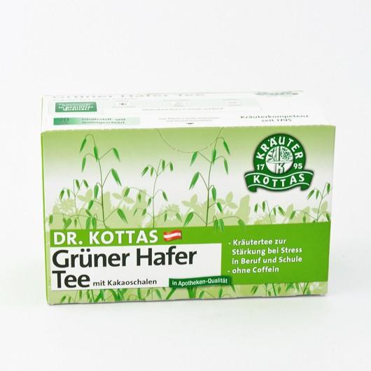Dr. Kottas Grüner Hafertee mit Kakaoschalen Filterbeutel 20St.