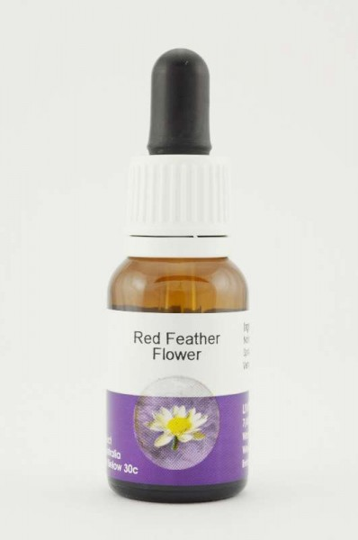 Living Essences Red Feather Flower 15ml