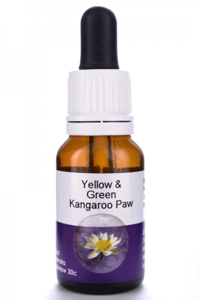Living Essences Yellow and Green Kangaroo Paw 15ml