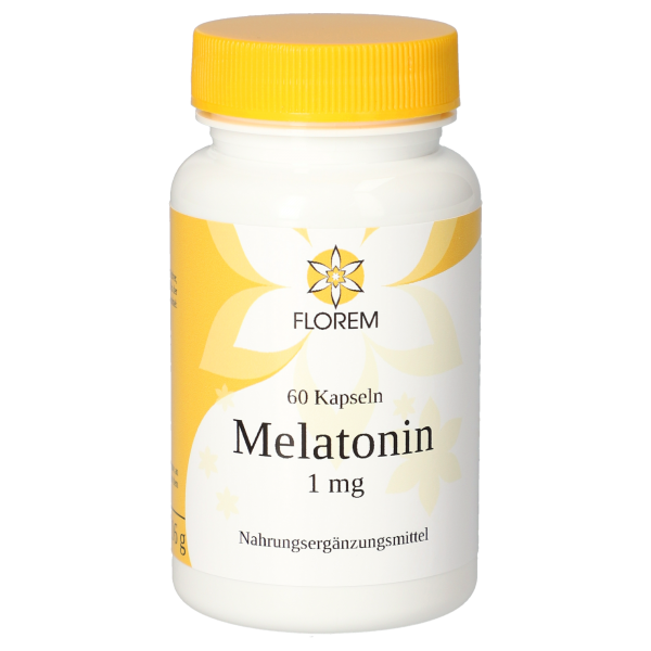 FLOREM Melatonin 1 mg 60 Kapseln