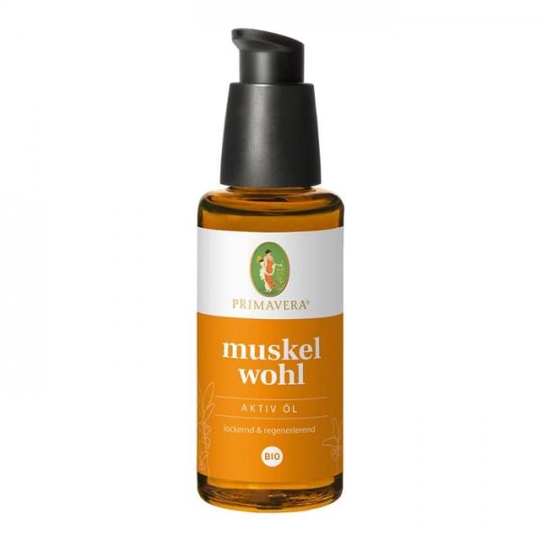 Primavera Muskelwohl Aktiv Öl bio 50ml