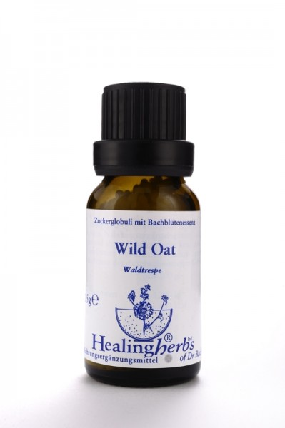 Healing Herbs - Wild Oat (Waldtrespe, Avena) Globuli 15gr