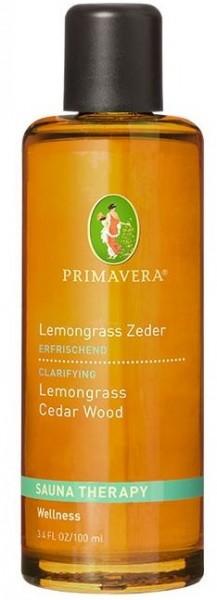 Primavera Aroma Sauna Lemongrass Cèdre * bio 100ml