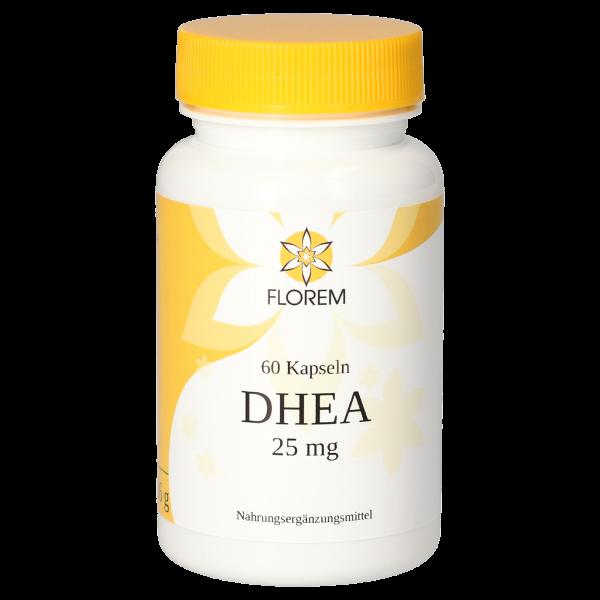 FLOREM DHEA 25 mg 60 Kapseln