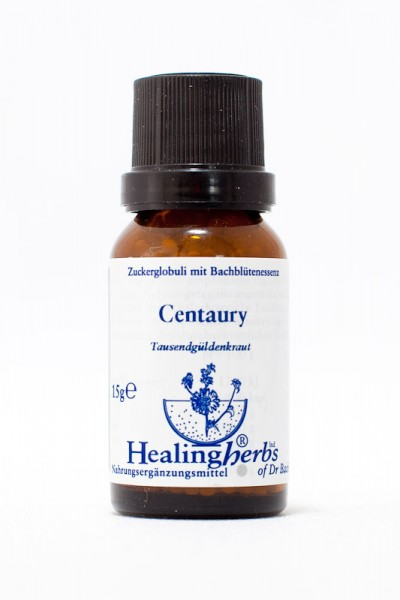 Healing Herbs - Centaury Globuli 15gr