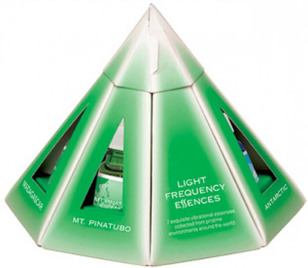 AUB - Light Frequency Pyramid Pack 7 x 10ml