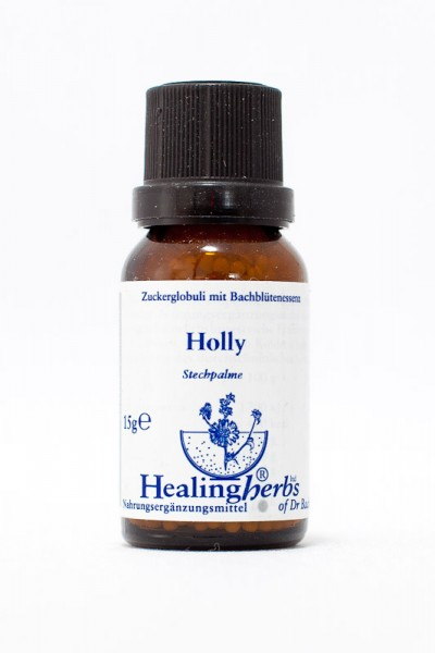 Healing Herbs - Holly (Stechpalme, Ilex) Globuli 15gr