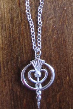 Silber Pendel / Halskette