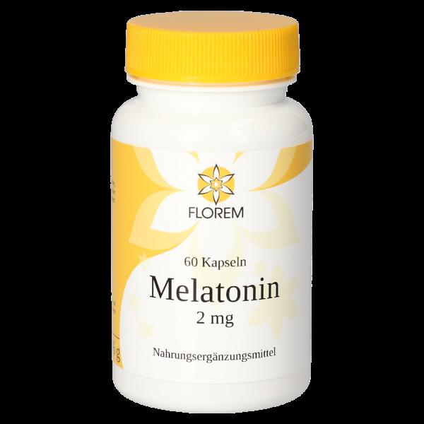 FLOREM Melatonin 2 mg 60 Kapseln