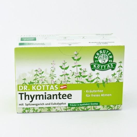 Dr. Kottas Thymiantee mit Spitzweg. und Eukal. Filterbeutel 20St.