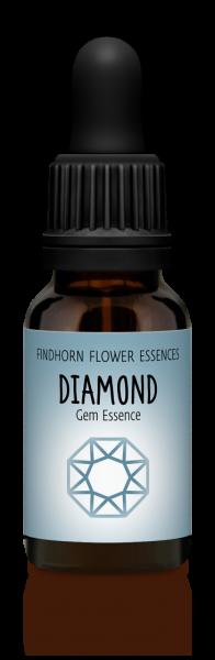 Findhorn - Diamond Gem Essence 15 ml - Diamant Edelstein Essenz