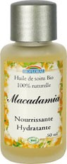 Biofloral - Huile bio de Macadamia 50ml