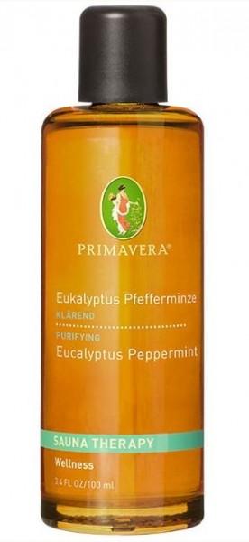 Primavera Aroma Sauna Eukalyptus Pfefferminze* bio 100ml