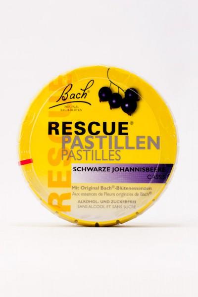 Bach Original Rescue Pastillen Schwarze Johannisbeere 50g