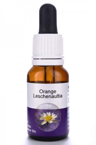 Living Essences Orange Leschenaultia 15ml DLC 09.2021