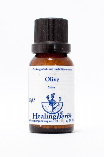 Healing Herbs - Olive (Olivenbaum) Globuli 15gr